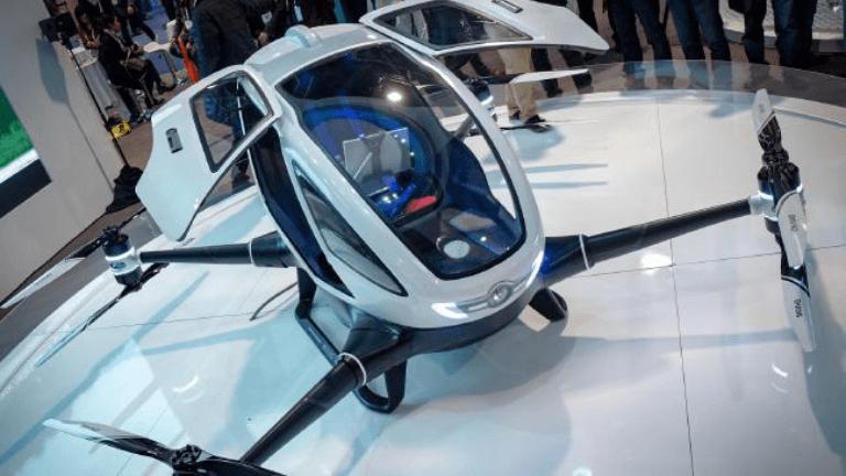 Passenger Drones will start Flying over Dubai