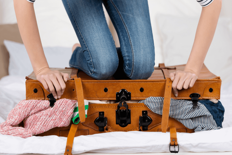 Time and Space saving way to pack a Suitcase