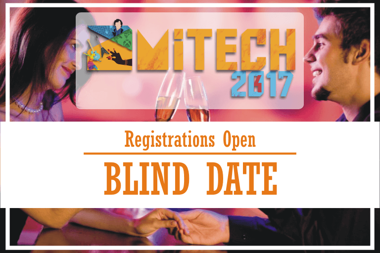 Blind Date at AMITECH'17, AMITY University