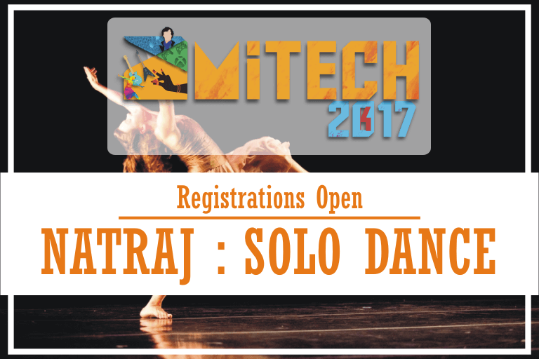 NATRAJ : Solo Dance Competition at AMITECH'17, AMITY University