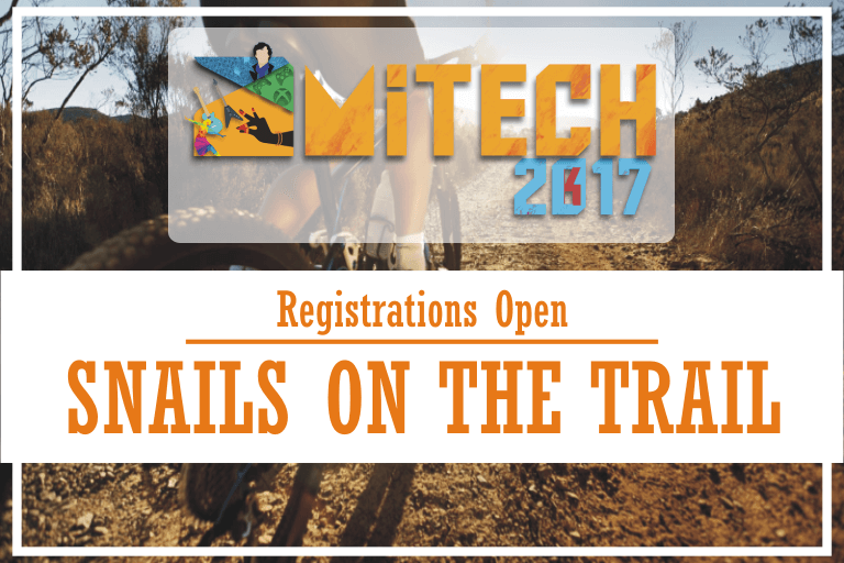 Snails on the Trail at AMITECH'17 AMITY University