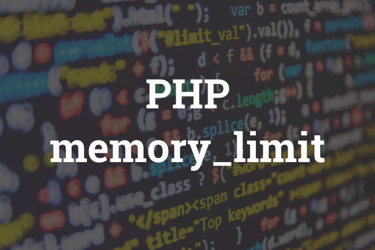Increase Memory Limit of PHP Website
