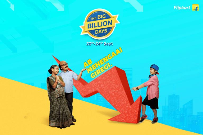 Flipkart #BigBillionDays are back – Ab Mehangai Giregi