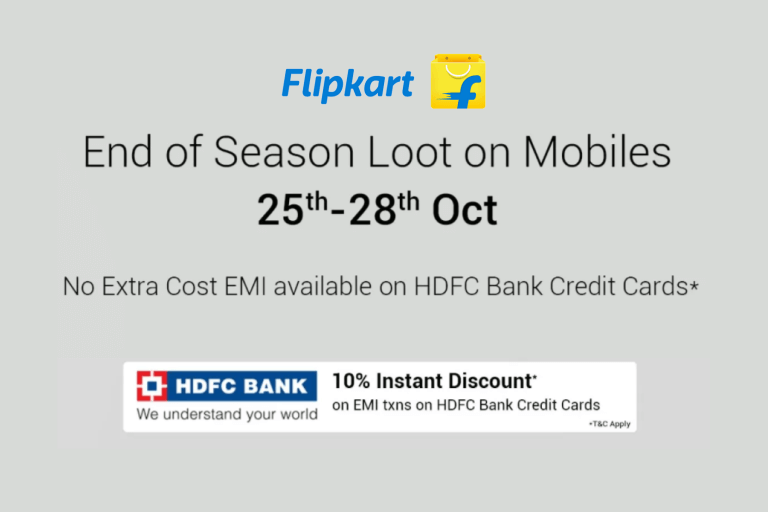 Flipkart End of Season Loot with Huge Discount on Redmi Note 4, iPhone 8, iPhone 7, Moto G5 Plus, and More